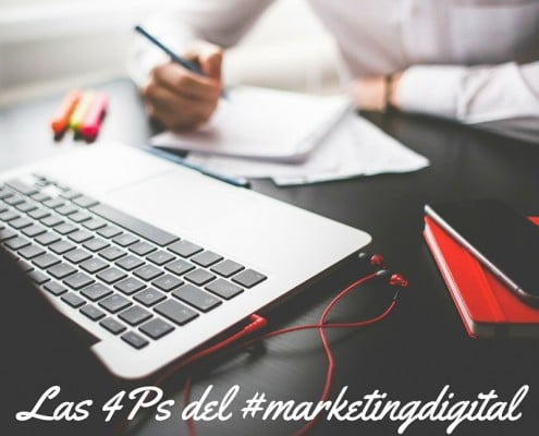 Las 4Ps del #marketingdigital